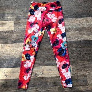 Onzie Monet floral leggings S/M